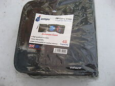 Non Utilizzato Sigillato Nero 48 capacità ALPS CD Custodia Anti-graffio maniche.