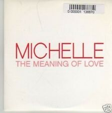(132P) Michelle, The Meaning Of Love - DJ CD
