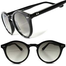 Classic Vintage Retro Keyhole Hipster Mens Womens Stylish Round Sunglasses F77