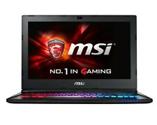 ( RB ) MSI GS60 Ghost Pro 4K-238 15.6'' i7-6700HQ 16GB GTX 970 6GB 256GB SSD+1TB