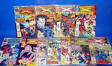 Lote de comics LAS AVENTURAS DE LOS X-MEN-11 numeros