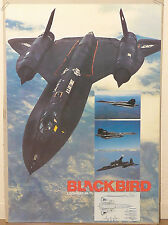 (PRL) 1983 BLACKBIRD LOCKHEED SR71 AEREO AVION AIRPLANE AFFICHE PRINT ART POSTER