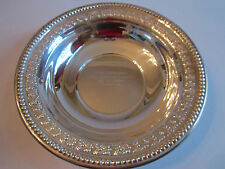 1954 WEST TEXAS OPEN SKEET - LADIES CHAMPION TROPHY BOWL -SILVER PLATE -WALLACE