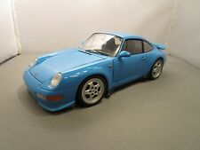 UT MODELS 1/18 *VHTF VERSION* BLUE PORSCHE 911 (993) NO BOX *ISSUES* NO BOX