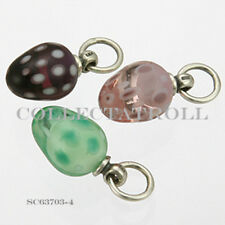 Authentic Trollbeads Silver Decorative Egg Kit - 3 Beads SC63703  *4*