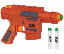 Star Wars Rogue One Nerf Rebel Blaster with Sound Captain Cassian Andor Toy Sale