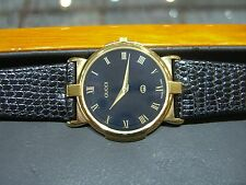 MENS GOLD GUCCI Swiss Made Luxury 3400 series WATCH, Roman Numerals PRE-OWNED
