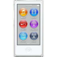 Official Apple iPod Nano 7th Gen Silver *VGWC*+Warranty!!