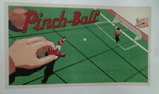 AFFICHE ORIGINALE PUB ANCIENNE PINCH BALL BALLON FOOT JEUX