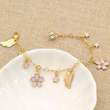 Bracelet Pendant Star Card Captor Sakura Kawaii Lovely Japanese Anime Gift Pink