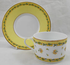 Raynaud Limoges BOUGAINVILLE Tea Cup e Piattino