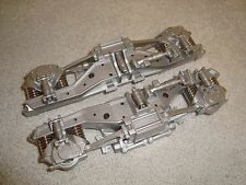 LGB 21490 PHASE 4 AMTRAK DIESEL LOCO REAR SILVER TRUCK FRAME PARTS SET OF 2 PCS!