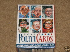 NEW Sealed 2012 Politicards 2nd Edition playing cards - would make a great gift!
