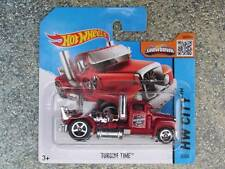 Hot Wheels 2015 #002/250 TURBINE TIME Truck Cab Rig red New Casting CASE C