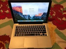 Apple MacBook Pro Early 2011 13 inch 2.7GHz Intel Core i7 4GB RAM 750GB HD