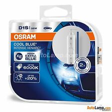 2 x D1S OSRAM Xenarc COOL BLUE INTENSE 6000K  Light Xenon HID Car Bulb TWIN