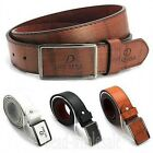 Men's Casual Waistband Leather Automatic Buckle Belt Waist Strap Belts Fashion
