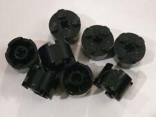 Lego 8 briques rondes noires set 8294 75093 7294 / 8 black round bricks