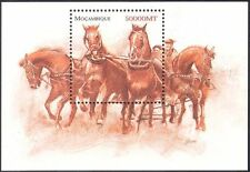 Mozambique 2002 Don Horses/Working Animals/Nature/Transport 1v m/s (s1845)