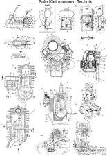 Solo Kleinmotoren Technik, detailliert auf 1000 Seiten