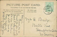S Barker. Belle Vue, Hampton-in-Arden, Coventry 1910 - Mabel. Huyton  PS.97
