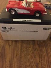 1959 Chevrolet Corvette Die Cast Motor Max New In Box