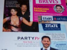 Joe Manganiello 15 pc German Clippings shirtless SEXY International True Blood