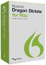 Dragon Dictate for Mac 4.0 Mac Disc Standard Nuance Communications, Inc.