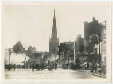 8X10 PHOTO REPRINT WAR HISTORY COVENTRY BRUTAL BOMB ATTACK