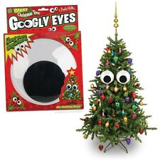 Set of Giant Googly Eyes Christmas Tree Ornaments!