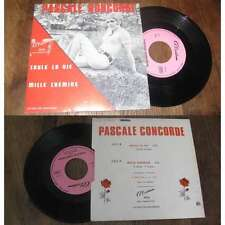 PASCALE CONCORDE - Coule La Vie Rare French PS 7' Sixties Pop