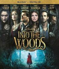 INTO THE WOODS ~ BLU-RAY ~ DIGITAL HD ~ DISNEY + NEVER B4 SEEN SONG SONDHEIM