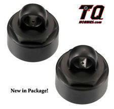 Tekno RC Shock Caps Aluminum Black Anodize 2pcs EB48 SCT410 TKR6003 Ship wTrack#