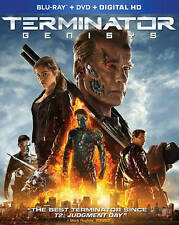 Terminator Genisys (Blu-ray/DVD, 2015, 2-Disc Set, Includes Digital Copy) NEW