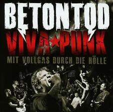 BETONTOD  VIVA  PUNK  mit vollgas durch die Hölle 2  CD s Album  NEU   foliert