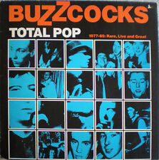 BUZZCOCKS / Total Pop (VINYL) 1988-80. Rare, live and great