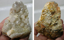 #5 Natural South Carolina Quartz Crystal Cluster Specimen 3 3/8 in or 85mm