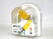 Nokya 2500K 27w Hyper Yellow 880/H27W/1 Halogen Fog Light Bulbs