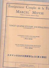 ensegneiment complet de la flute par marcel moyse -