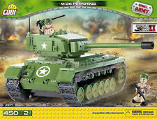 Cobi Toys blocks 450 bricks M26 Pershing American Tank 2471 good as lego panzer