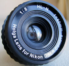 USD - BRAND NEW HOLGA Lens HL-N for Nikon DSLR SLR Film Camera