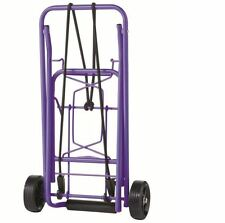 CTS Folding Purple Luggage Cart Multi-Use Travel NEW Dolly Compact Rolling Duty