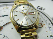 NICE & RARE VINTAGE SEIKO LM LORD MATIC 5606-7000 AUTOMATIC GENTS.