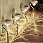 LED Garden Lamps Yard Lawn Lights Path Wall Outdoor Spotlight Party Solar Power
