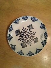 Set of 2 CMG Canape Plates Hand made in Portugal in Blue Tile Color New w/o tags