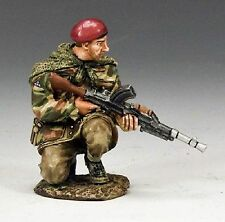 KING AND COUNTRY WW11 ARNHEM CROUCHING BREN GUNNER MG039(P) British Metal
