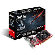 New Genuine Asus AMD Radeon R7-240 4GB Graphics Card - Black/Red