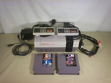 Nintendo NES Console System Bundle NEW PIN Game lot Super Mario Duck Hunt MLB