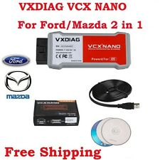 VXDIAG VCX NANO for Frod/Mazda 2 in 1 OBD2 Diagnostic Tool with IDS V100.01
