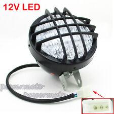 ATV LED Head Light Front Headlight For Roketa Sunl Taotao 4 Wheeler Go Kart Quad
